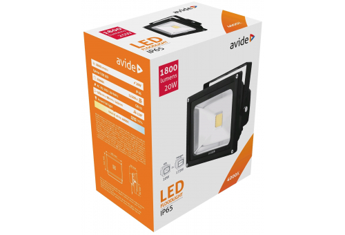 Avide LED Flood Light 20W NW 4000K