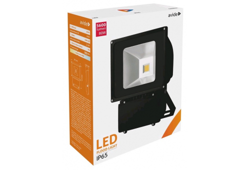 Avide LED Flood Light 80W NW 4000K